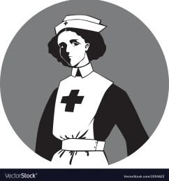 world war one nurse clipart vector image [ 1000 x 1080 Pixel ]