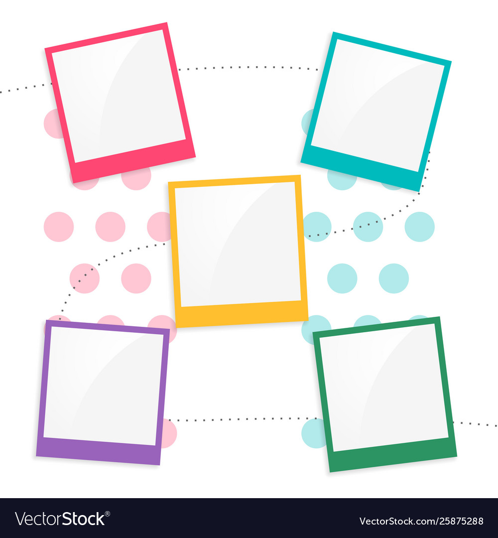 Your resource to discover and connect with designers worldwide. Colorful Kids Scrapbook Page Template Royalty Free Vector