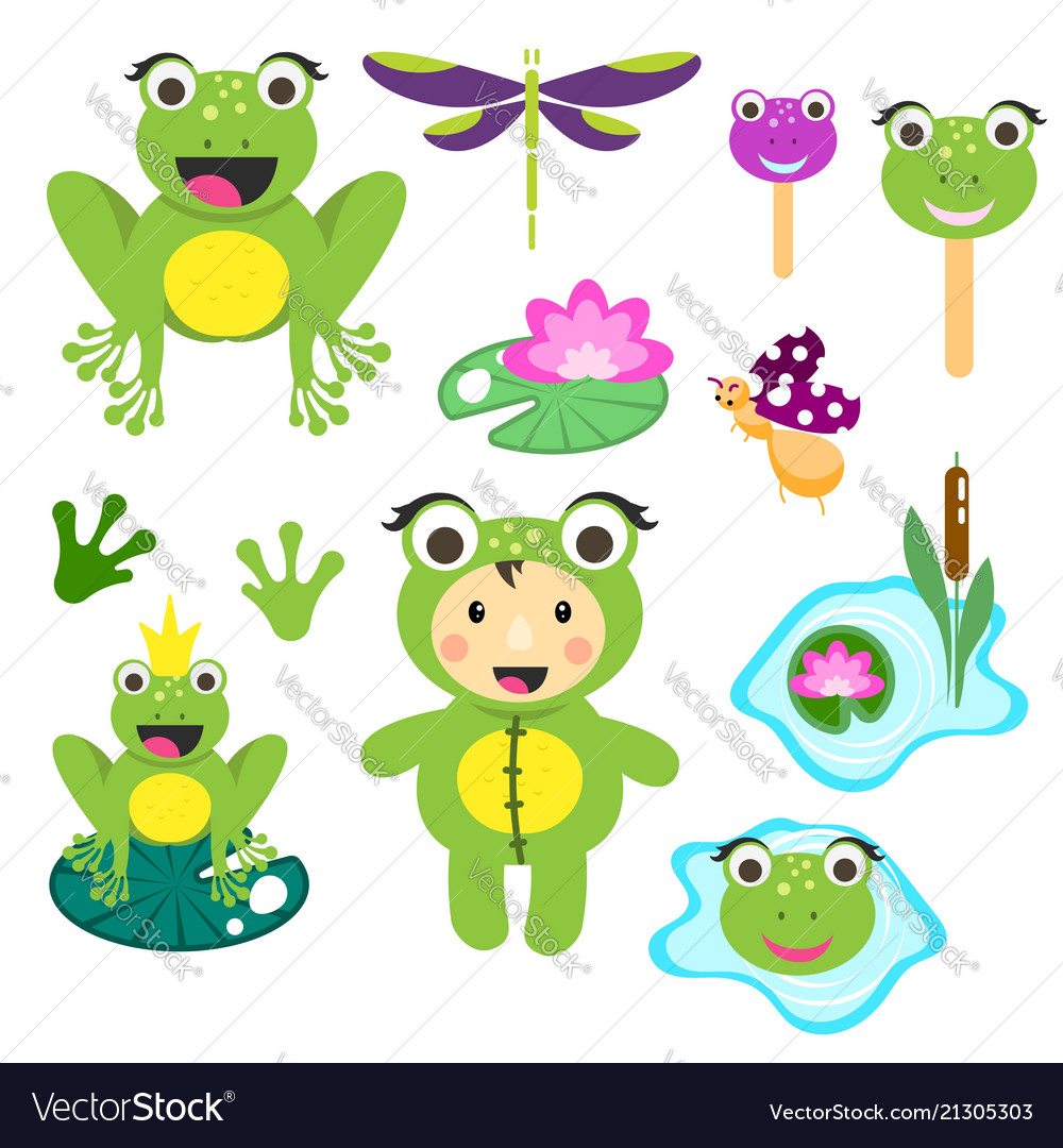 hight resolution of free frog clipart