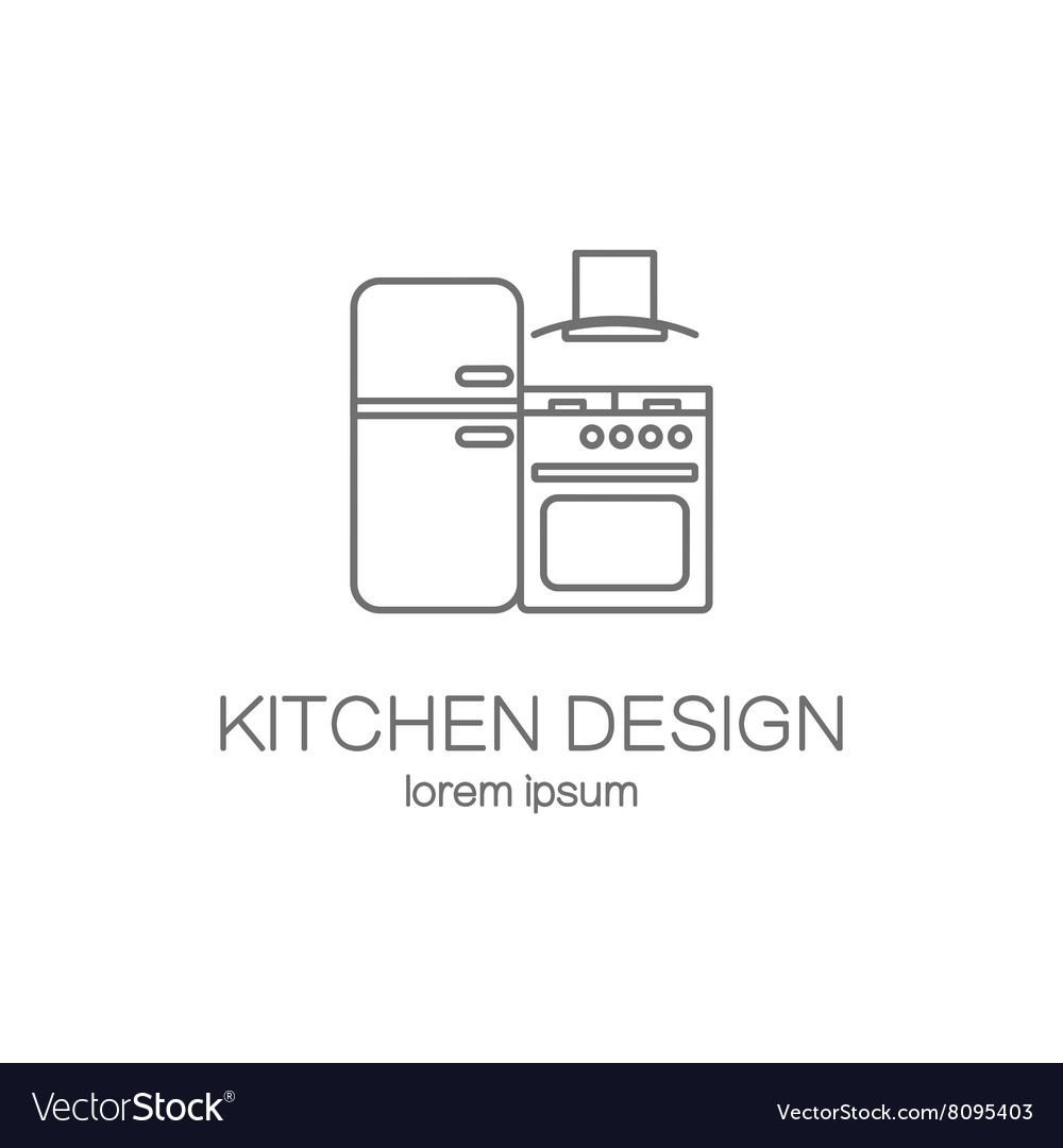 kitchen design template commercial floor cleaning logo templates royalty free vector image