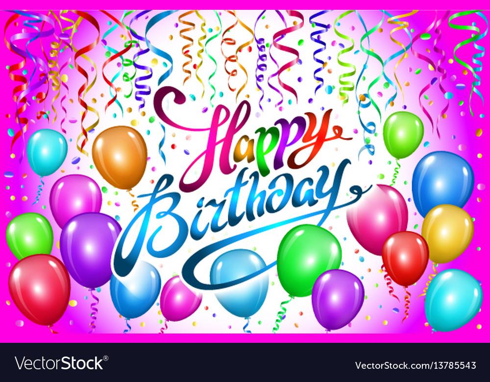 Balloon Happy Birthday Josemulinohouseco