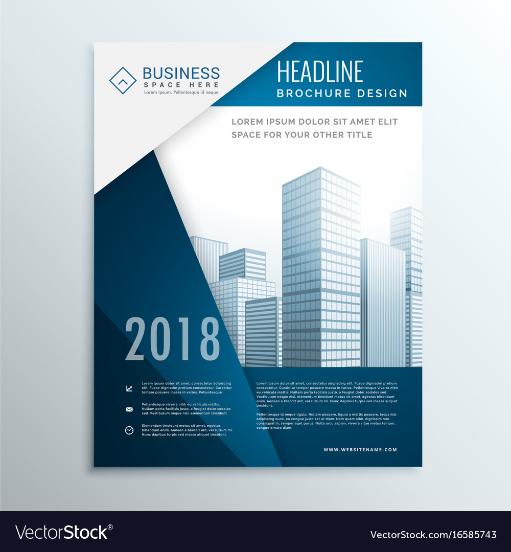 Small Business Consultant Brochure Business Trifold