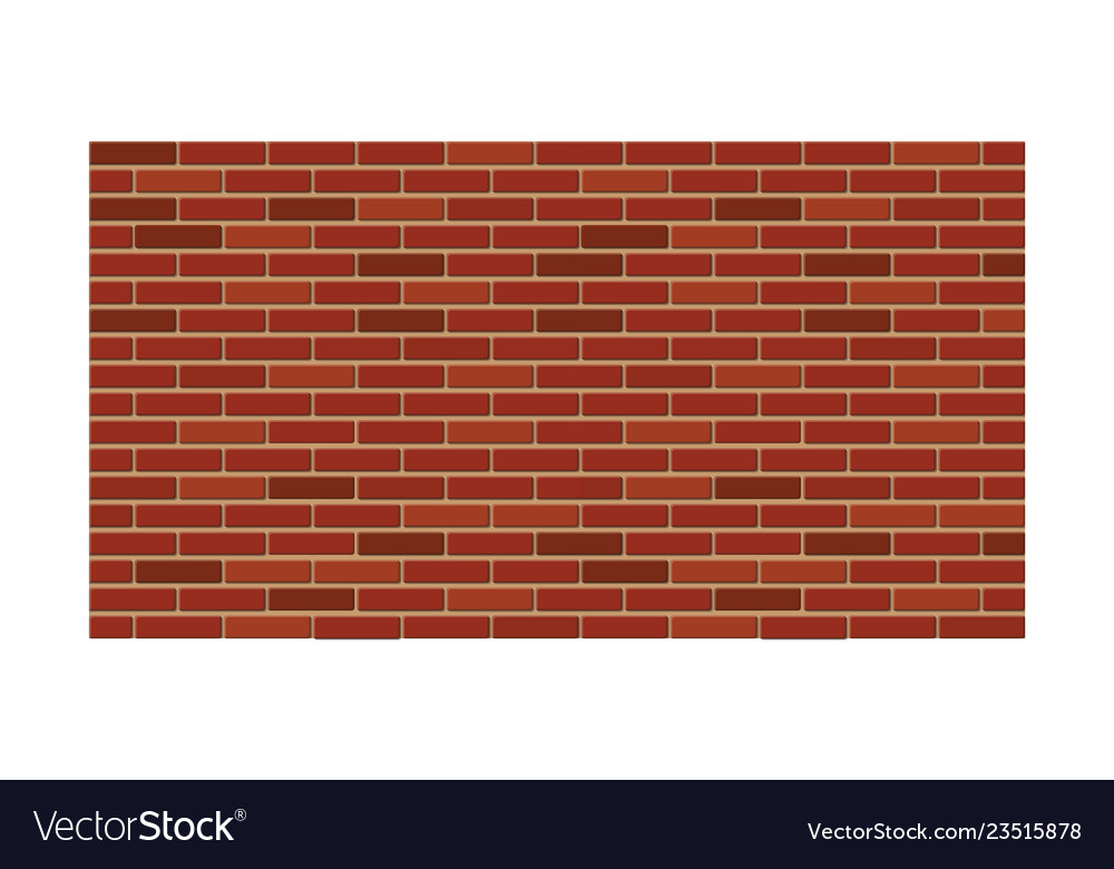 red brick wall construction