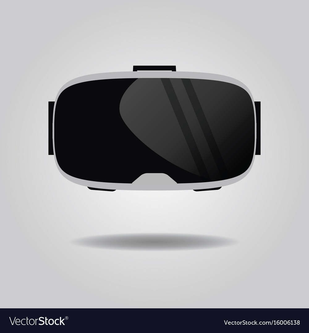 abstract virtual reality glasses