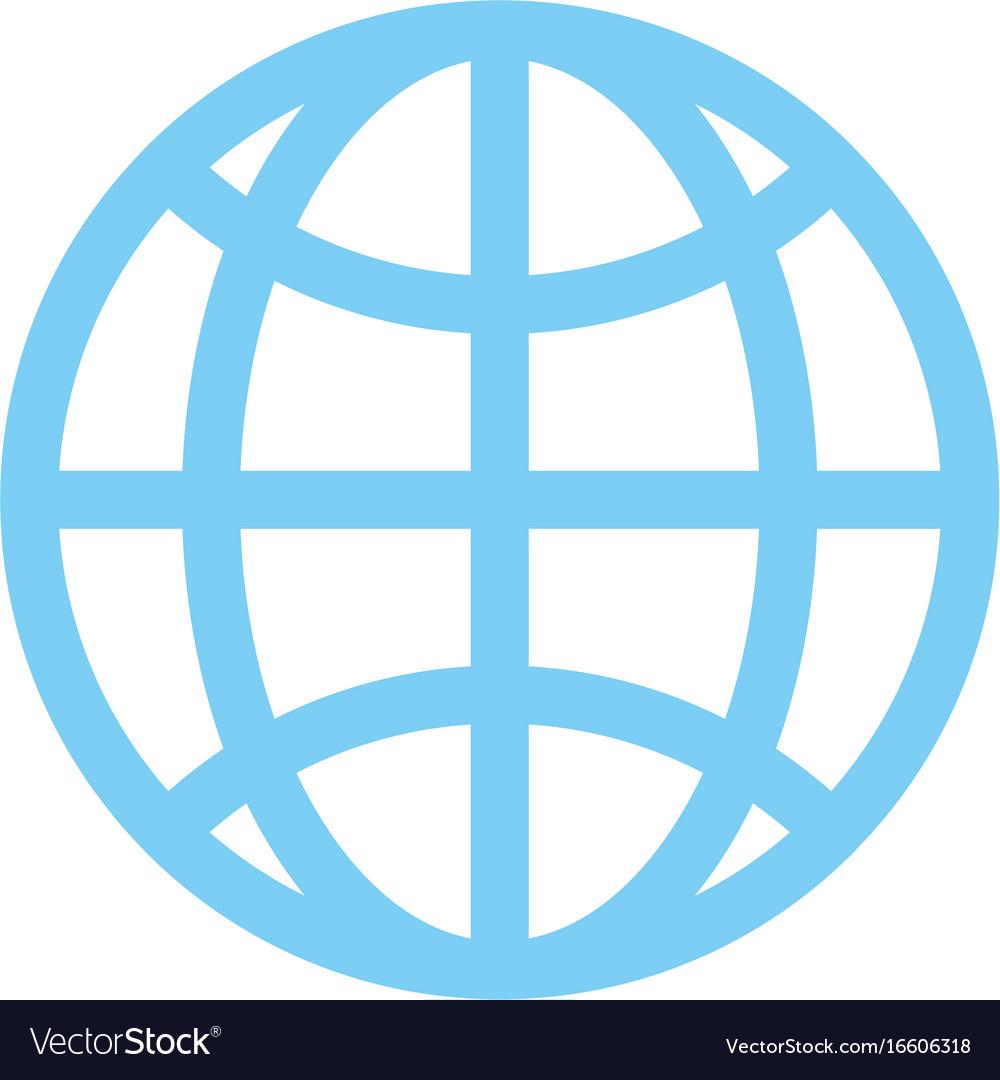 hight resolution of globe diagram