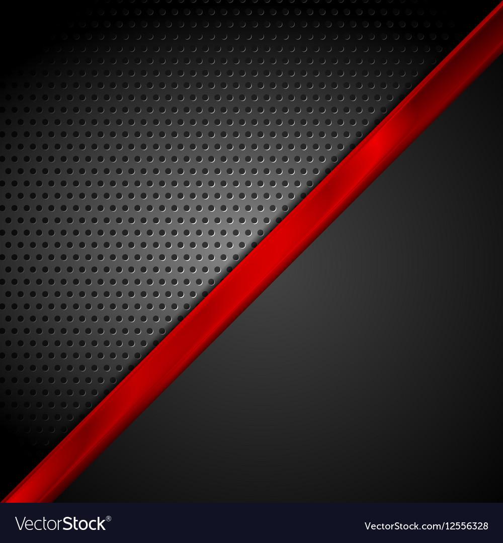 dark red black tech