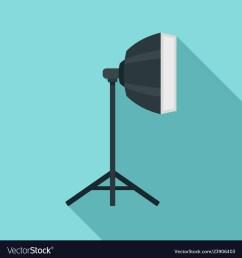 studio light stand icon flat style vector image [ 1000 x 1080 Pixel ]