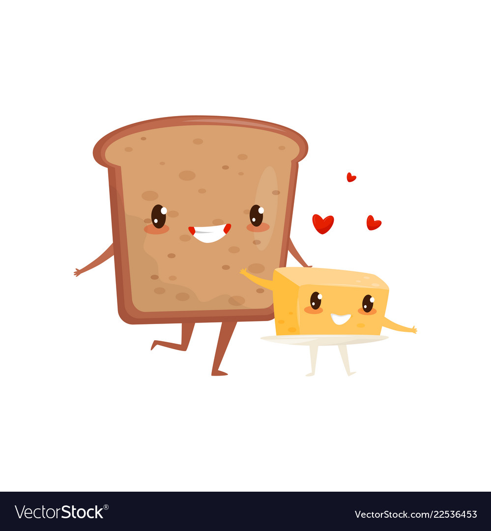 bread and butter are