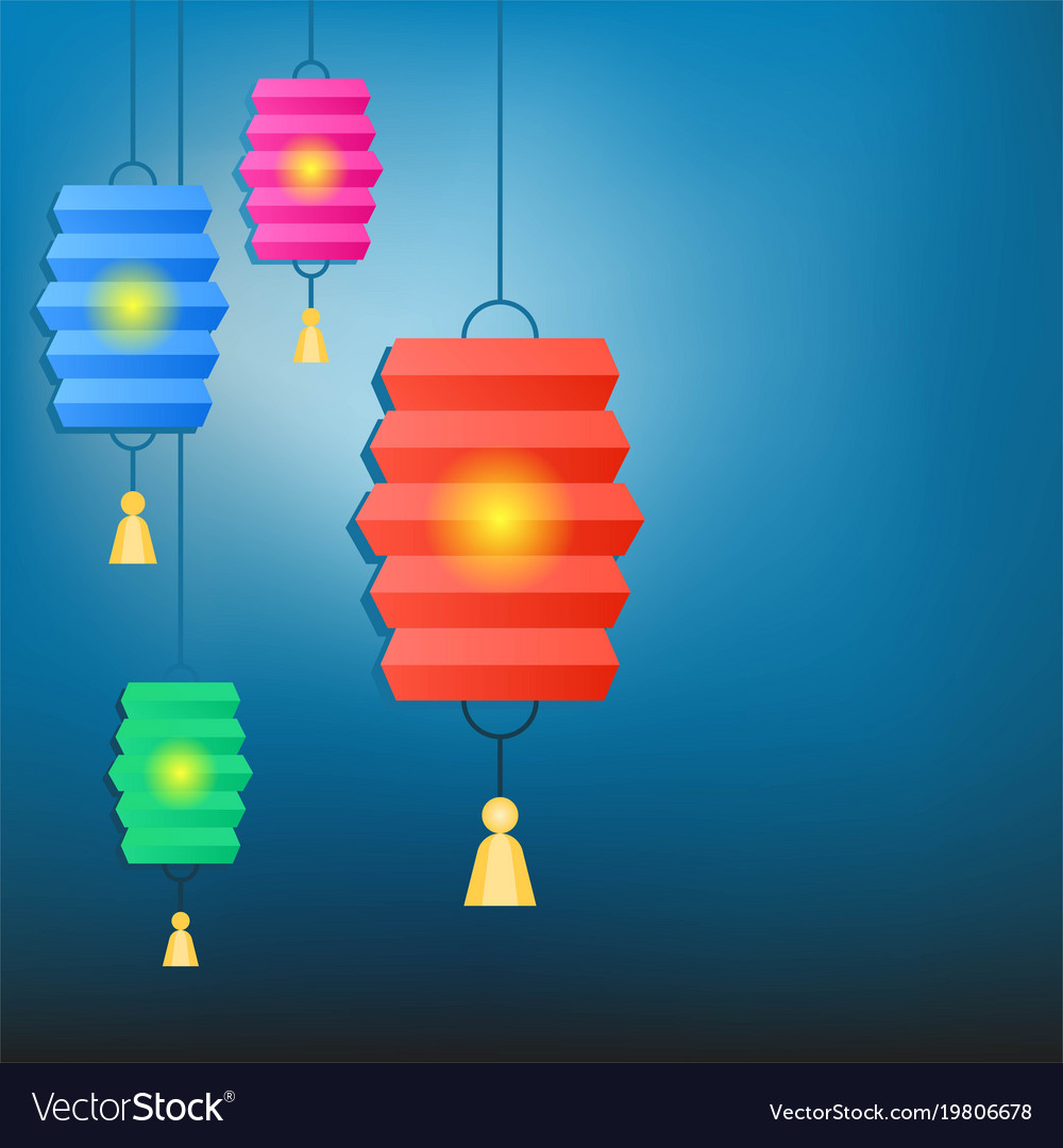 chinese lantern background for