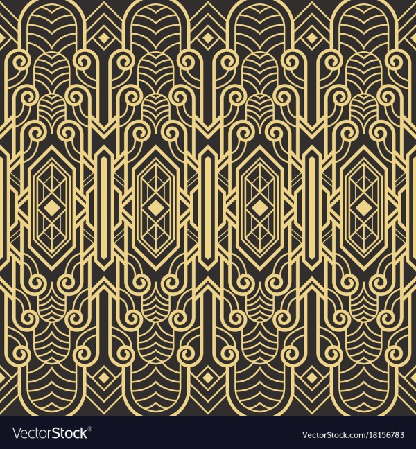 Art Deco Patterns Vector