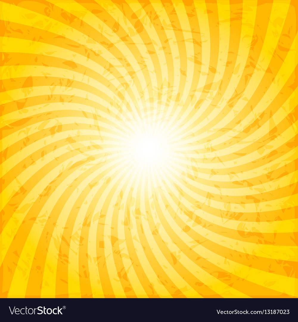 medium resolution of textured spiral sunray background vector image