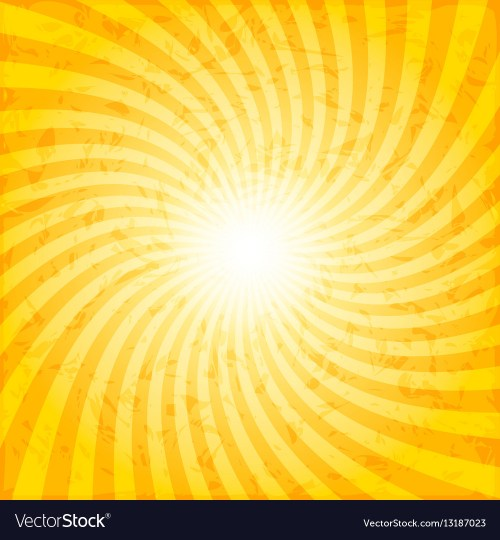 small resolution of textured spiral sunray background vector image