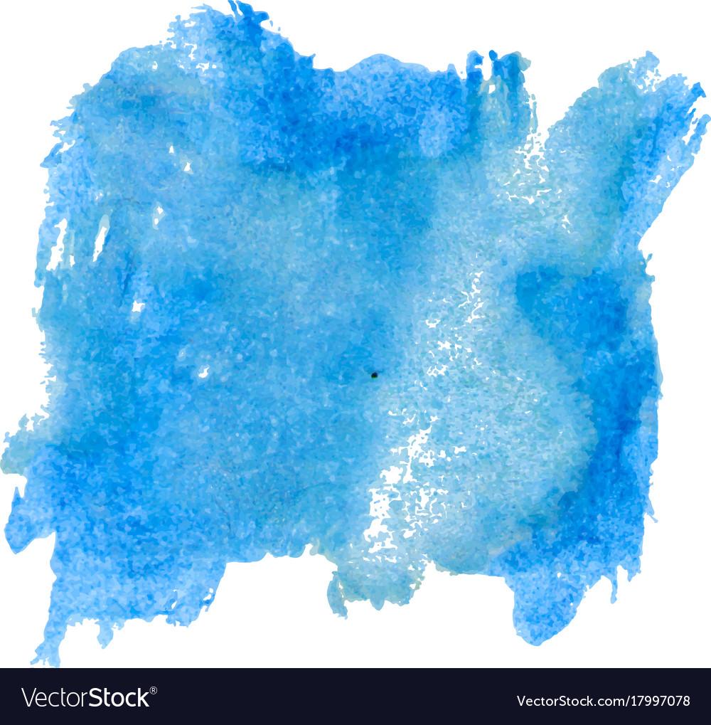 blot template blue watercolor