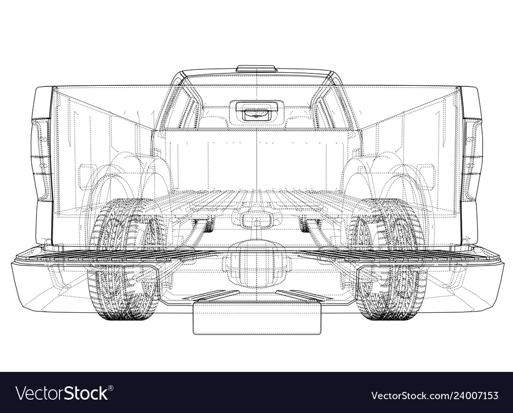 hight resolution of car silhouettes rendering of 3d vector image