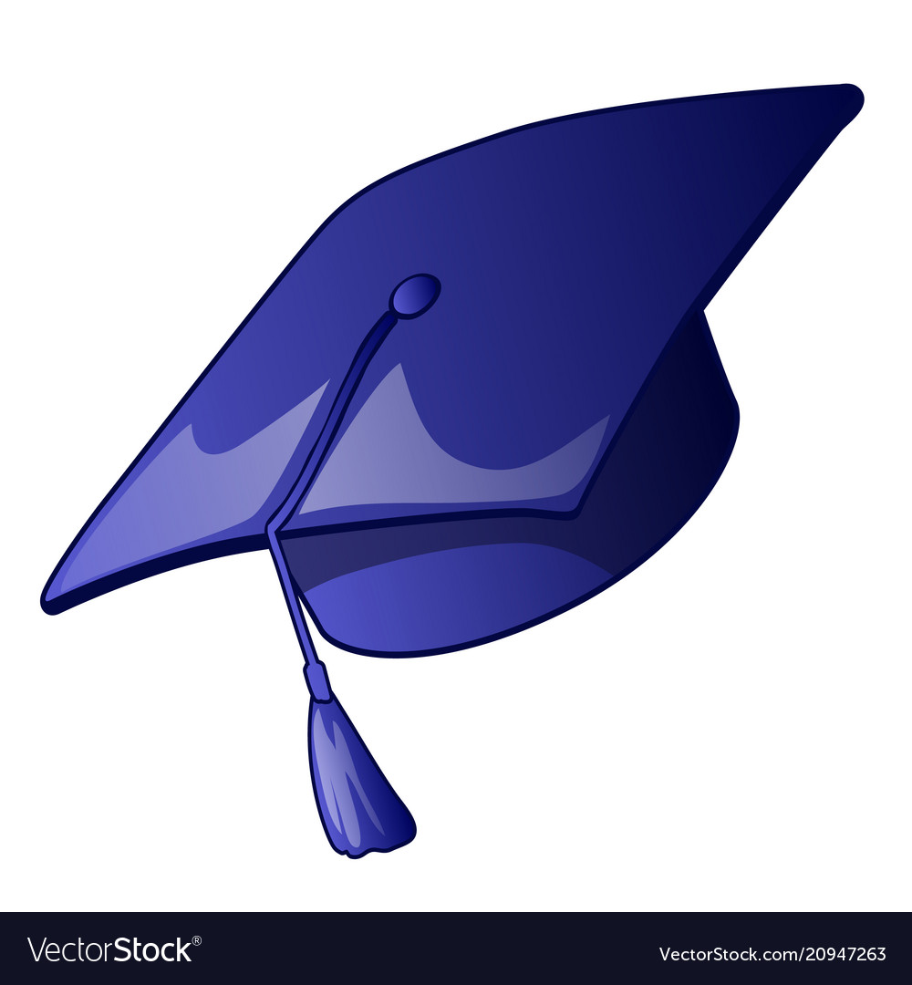 graduation cap with a