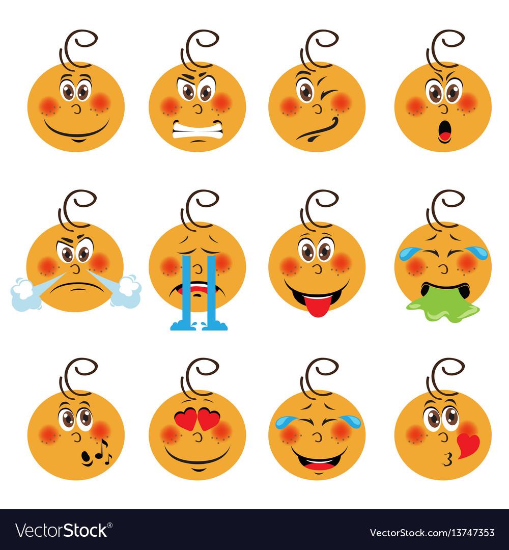 baby boy emojis set