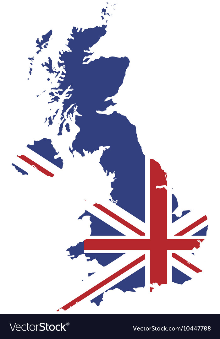 great britain map and