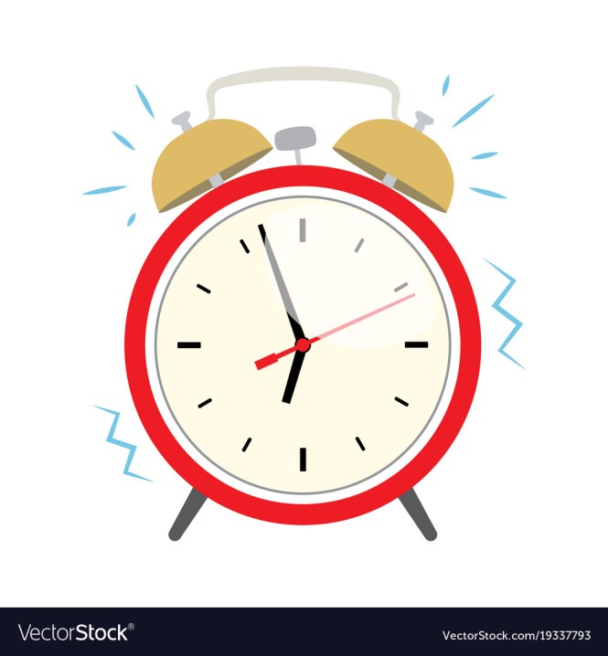 Alarm Clock Royalty Free Vector Image