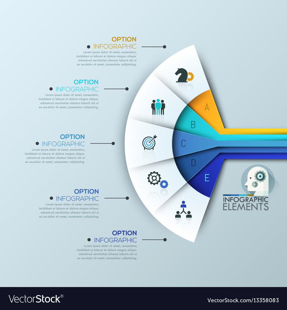 creative infographic design layout