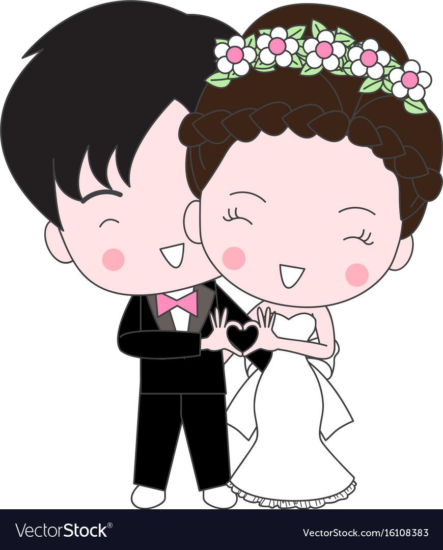 Wedding Cartoon Images : wedding, cartoon, images, Wedding, Cartoon, Royalty, Vector, Image