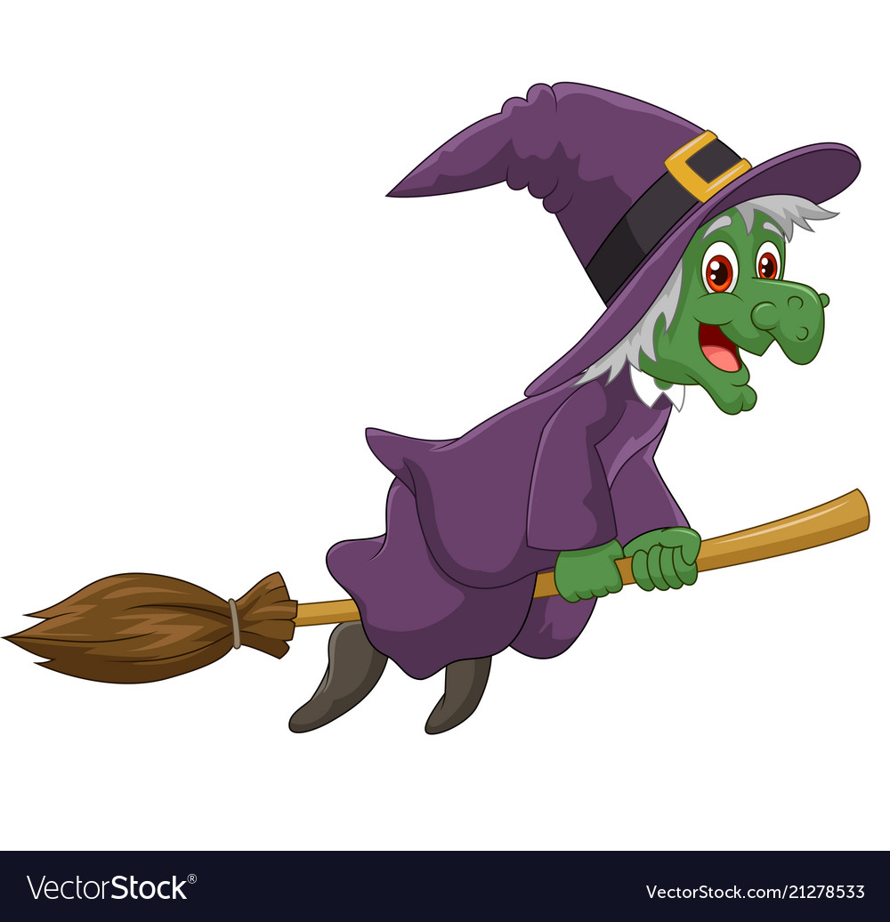 sinister witch was riding
