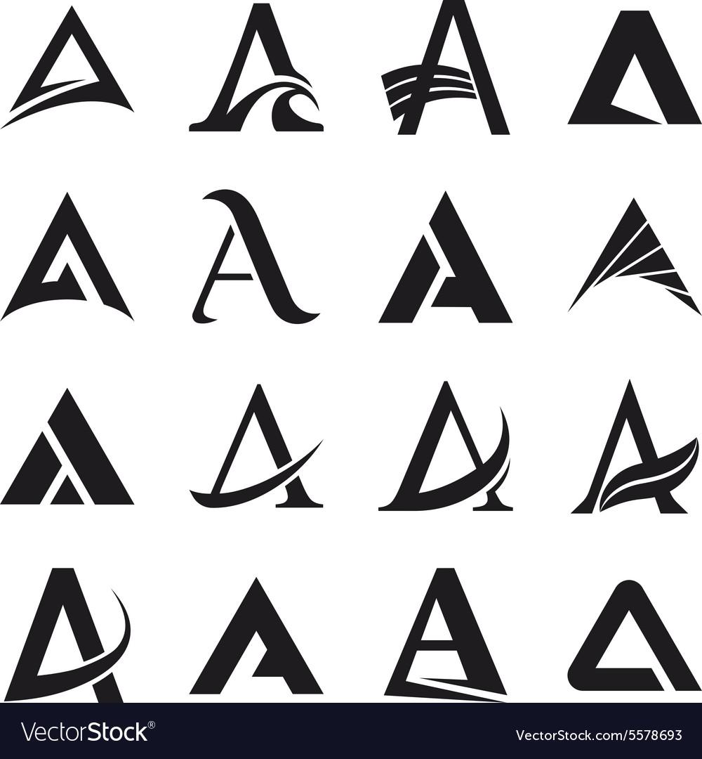 alphabet symbols and elements