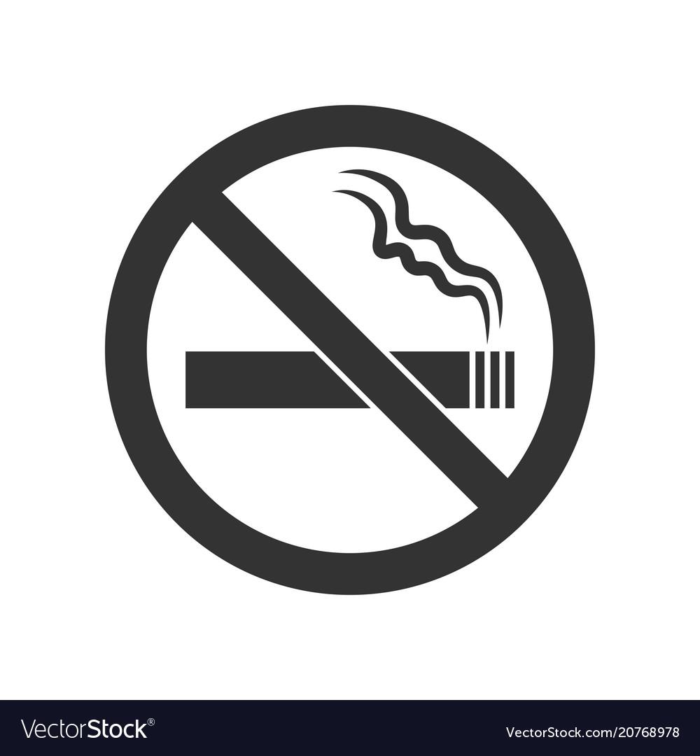 webno smoking sign no