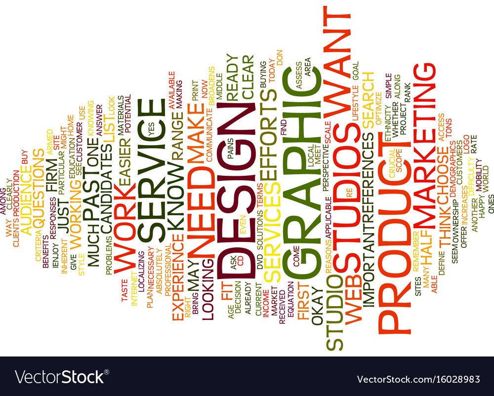 graphic design studios text