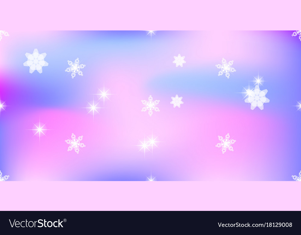 vivid background with snowflakes