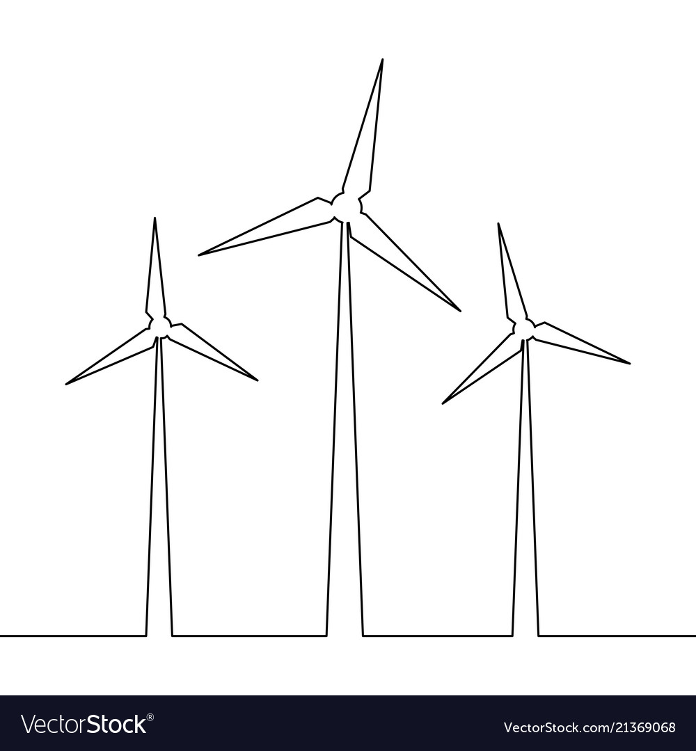 hight resolution of wind mill energy diagram