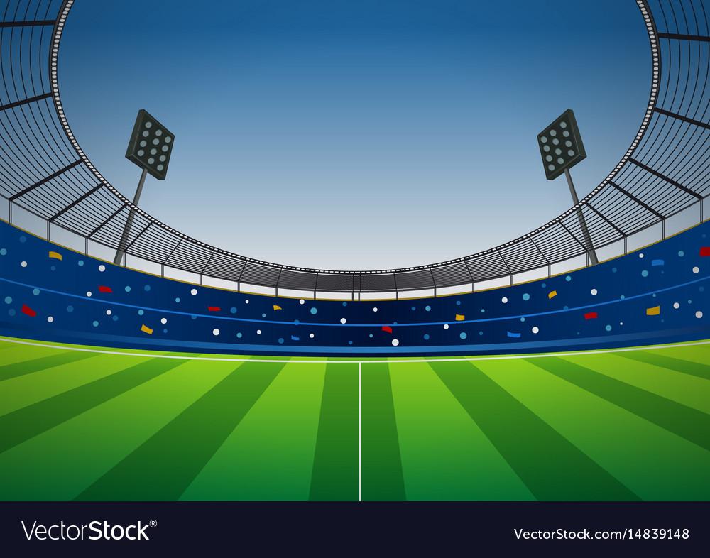 soccer football stadium background