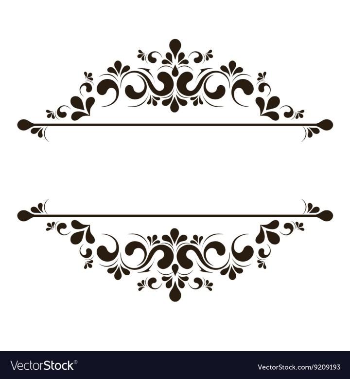 Very Perfect Elegant Frame Vector Composition - Ideas de Marcos  VN98
