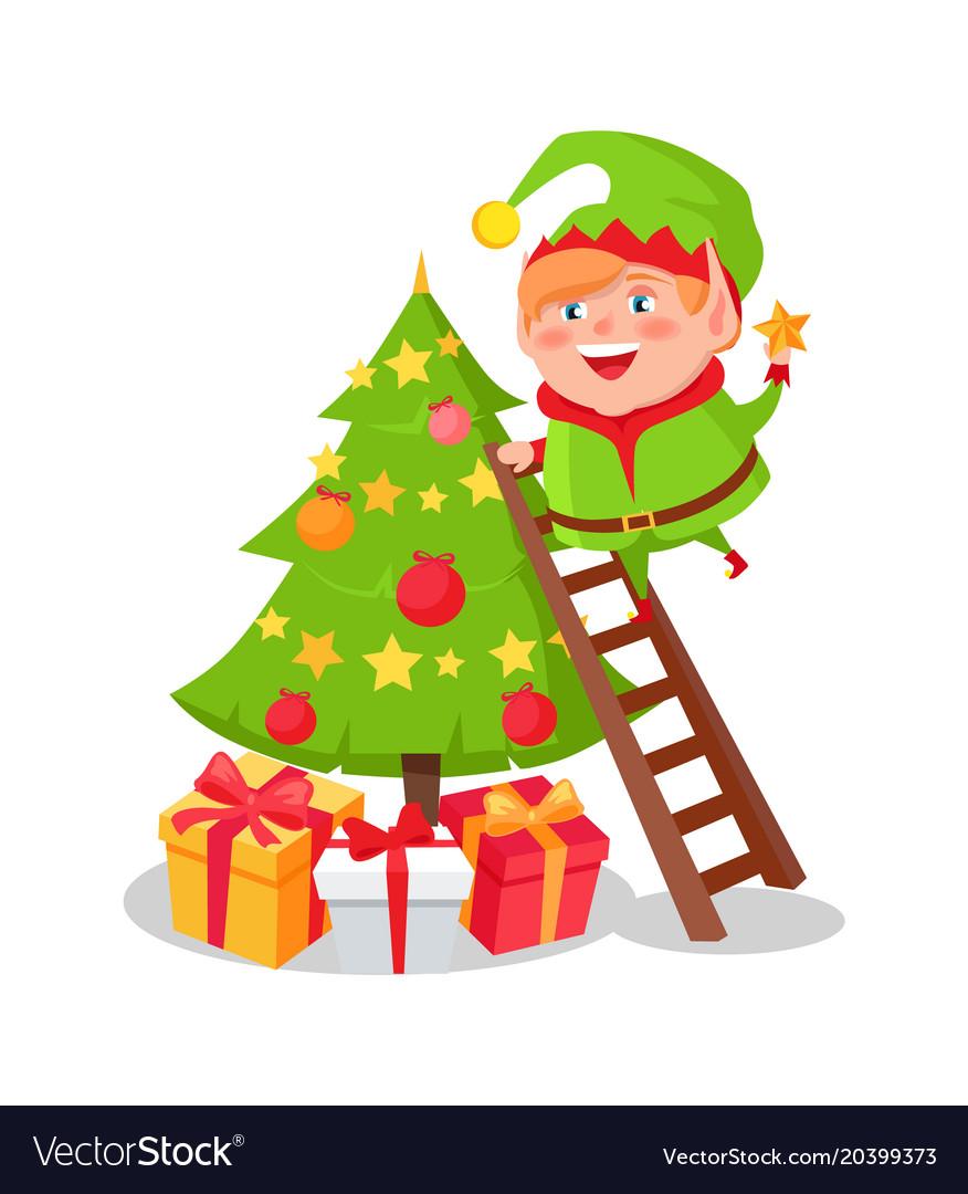 elves decorating christmas tree | Psoriasisguru.com