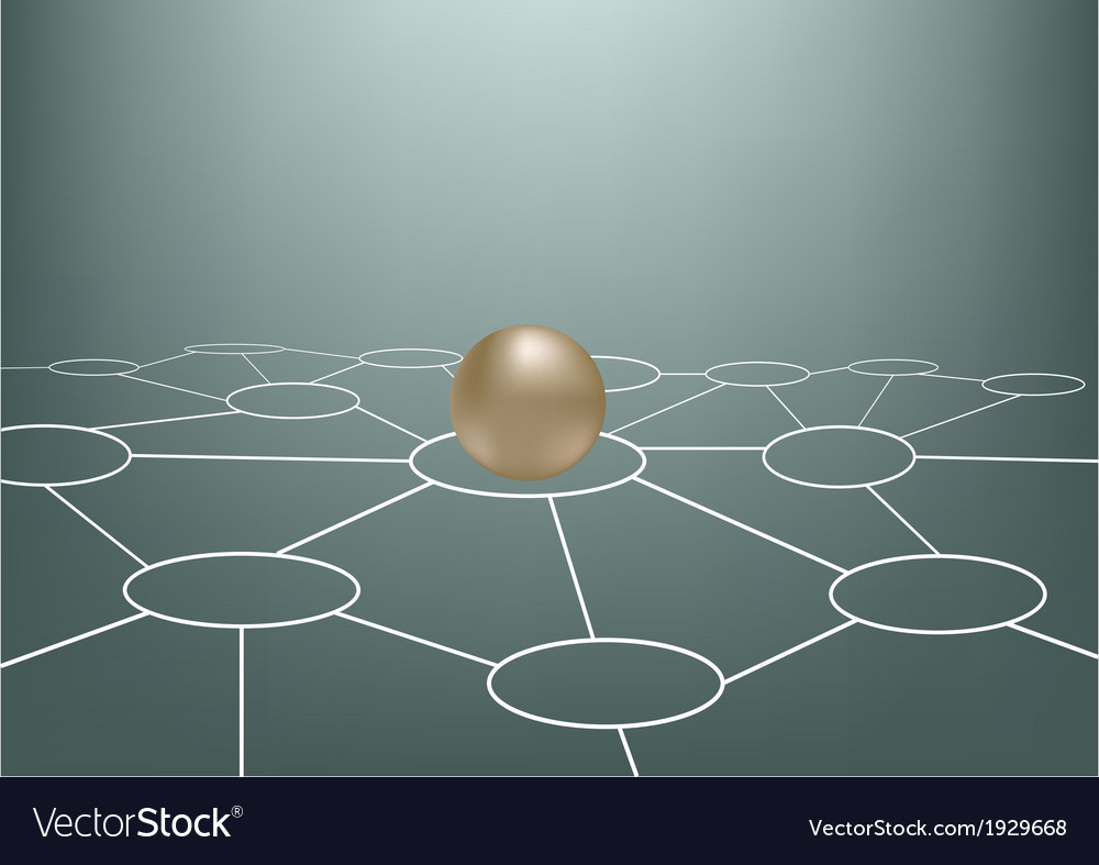 medium resolution of net of sphere abstract vector image