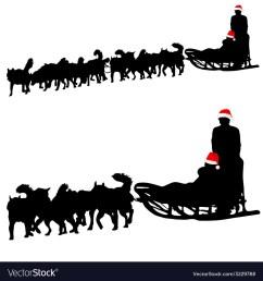 dog sled clipart [ 1000 x 1080 Pixel ]