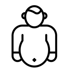 Thin Boy and Fat Girl Vector Images (56)