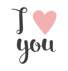 Download I love you mechanical panel letters Royalty Free Vector