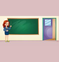 Empty Classroom Clipart