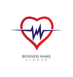 designtemplate love logo vector