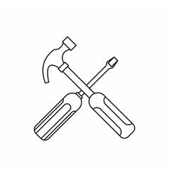 Hammer & Outline Vector Images (over 1,400)