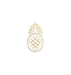 Pineapple Silhouette Simple Vector Images over 240