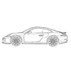 Porsche Vector Images (39)