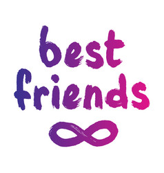 infinity symbol of friends