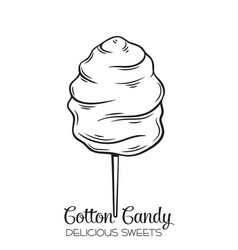 cotton candy vector images