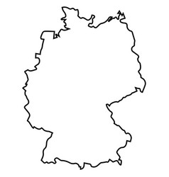 Germany Map Outline Vector Images (over 780)