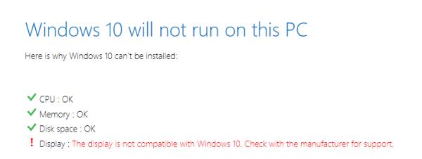 Windows 10 - Дисплей несовместим - Обложка - Рекомендуем - Windows Wally