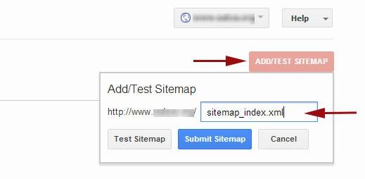 Thêm sơ đồ trang web xpress wordpress của bạn trong các công cụ quản trị trang web của Google