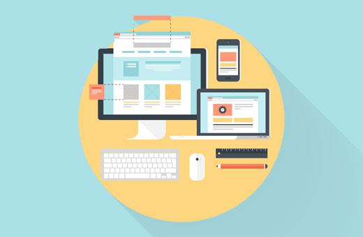 Modern web design