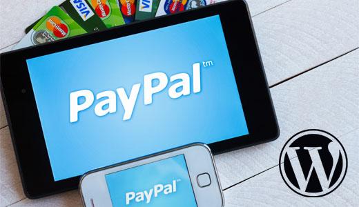 PayPal and WordPress