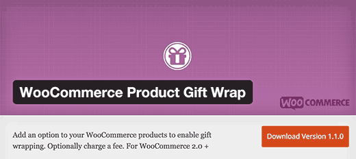 WooCommerce Product Gift Wrap Plugin